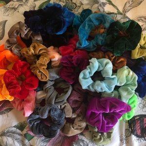Pack of 37 Velvet Scrunchies!!!!